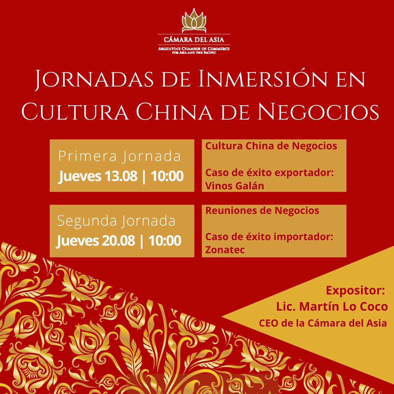 Inmersión en Cultura China de Negocios